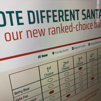 Vote Different Santa Fe