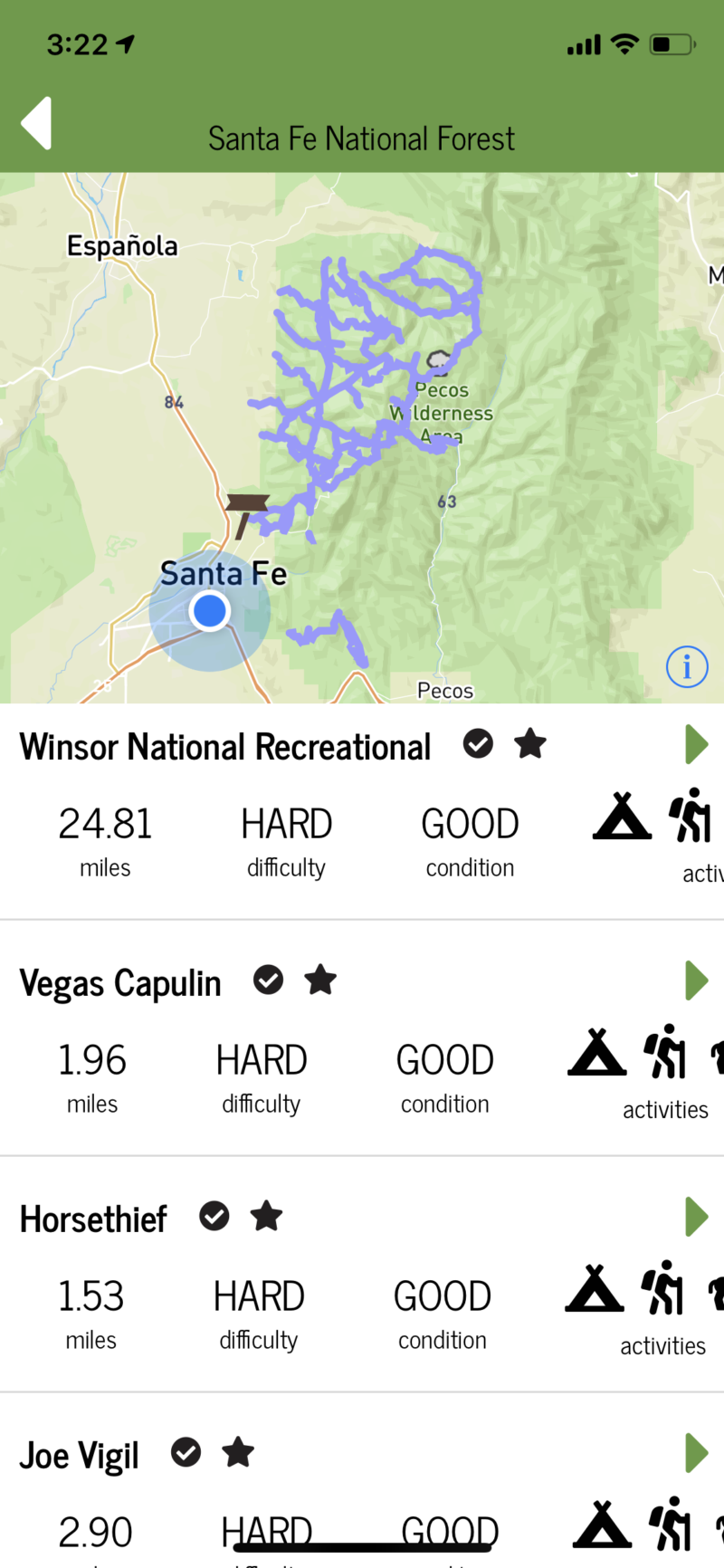 Santa Fe County Trails